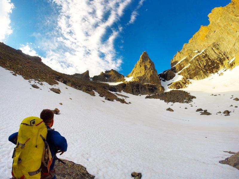 Rock Climbing Photo: June 21st, 2017 (SOOOO MUCH SNOW/ICE). Bring appro...