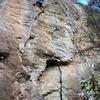 Manu & Erick climbing La Puerta