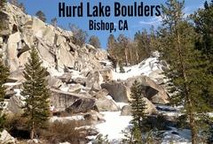 Rock Climbing Photo: Hurd Lake Boulders, Bishop Ca.