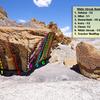 White Streak Boulder and Trucker Mud Flap