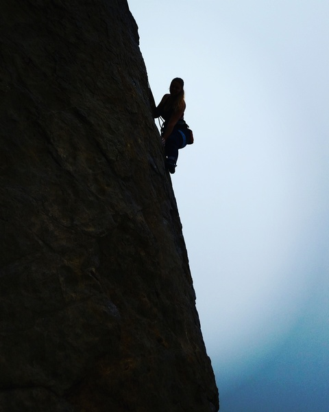 Rock Climbing Photo: Arete Point Dume