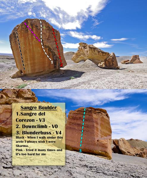 Sangre Boulder Overview