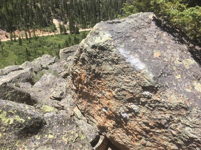 Rock Climbing Photo: The bloc.