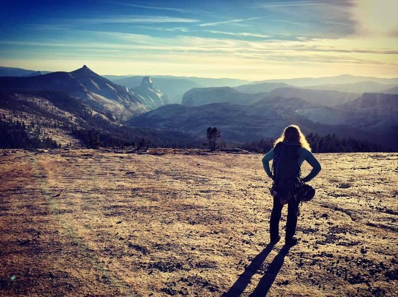 Rock Climbing Photo: On top of Mt. Tenaya