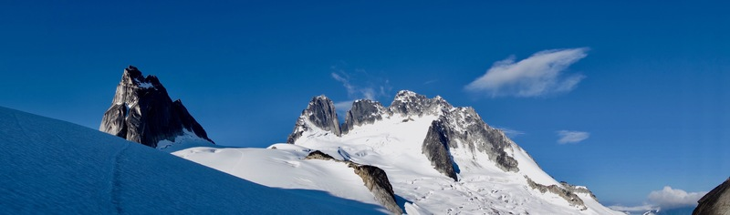 Pigeon Spire in the Bugaboos
