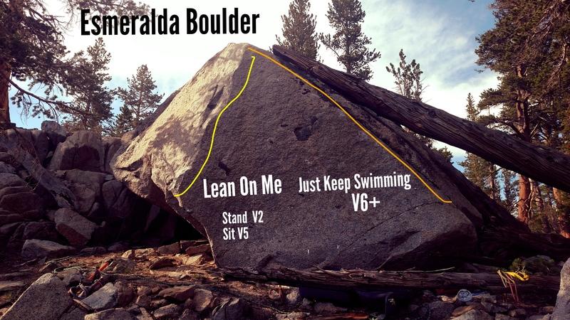 Rock Climbing Photo: Esmeralda Boulder