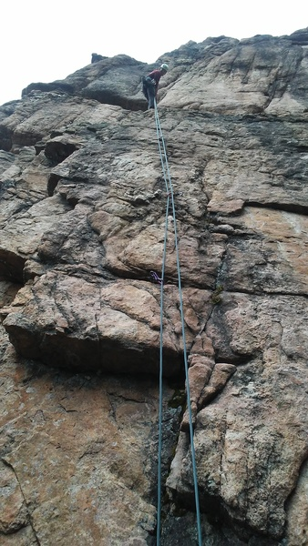 Rock Climbing Photo: Short and simple.