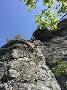 Rock Climbing Photo: starting up p1