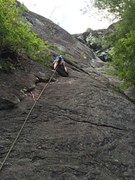 Rock Climbing Photo: starting on p1