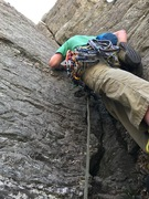 Rock Climbing Photo: racked up for the glorious p5 crack