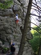 Rock Climbing Photo: top-roping p1, a great climb for beginners