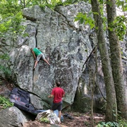 At the Crux of this tough V3 problem