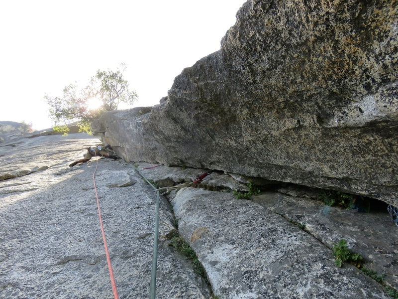 The 5.9 corner on Pitch 5 (or Pitch 6 if via SuperTopo).