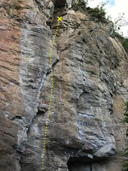 Rock Climbing Photo: La Puerta, Columpio and Vanilla Sky