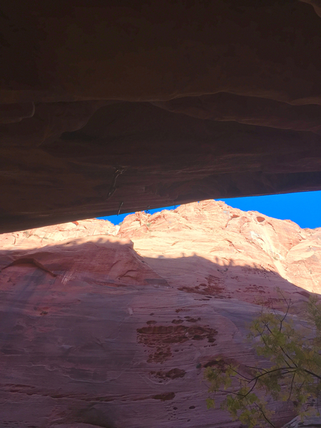 Rock Climbing Photo: To give you an idea of the steepness.  Great prot...