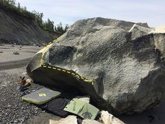 Rock Climbing Photo: Nice little traverse