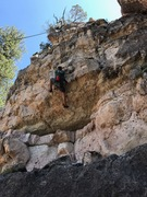 Rock Climbing Photo: Might be a bit off route, we top roped so we could...