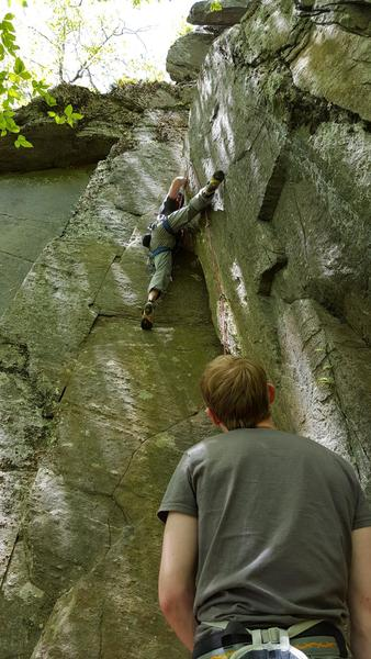 Rock Climbing Photo: Really enjoyed this climb!