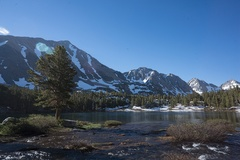 Rock Climbing Photo: Little Lakes Valley - in late June of an epic run ...