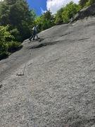Rock Climbing Photo: RH on the beautiful P2