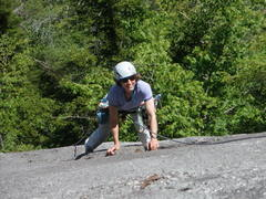Rock Climbing Photo: S Matz follows P2
