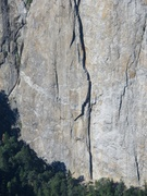Rock Climbing Photo: High-res photo of Central Pillar, taken from El Ca...