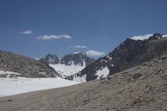Rock Climbing Photo: Mt. Abbot from Mono Pass.