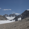 Mt. Abbot from Mono Pass.