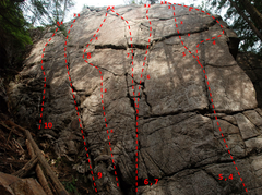 Rock Climbing Photo: Valley of the Lost Tribe 1