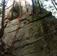 Rock Climbing Photo: Valley of the Lost Tribe 2