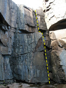 Rock Climbing Photo: Guillemot Crack