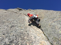 Rock Climbing Photo: The 8th pitch