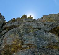 Rock Climbing Photo: Summit glory.