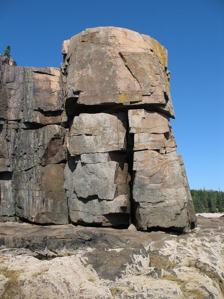 Rock Climbing Photo: Rock Lobster/Wiessner Route
