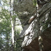 """I nominate this wall to be called """"Slabs to Riches"""" A bit east of Garden Point (North on AT)"""