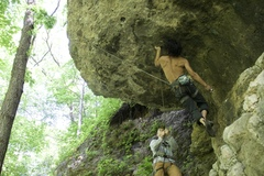 Rock Climbing Photo: Here is some potentially useful beta from Jesse Du...