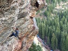 Rock Climbing Photo: Keep it Heavy