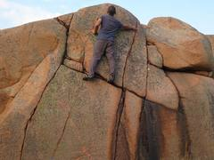 Rock Climbing Photo: Variations on routes here are endless. Near D4 in...