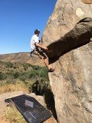 Rock Climbing Photo: Moving up through the LieBack:#2