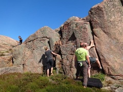 Rock Climbing Photo: Near C14-C15 in the guide.