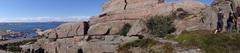 Rock Climbing Photo: The view towards the ocean.