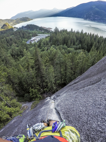 Rock Climbing Photo: View is getting better