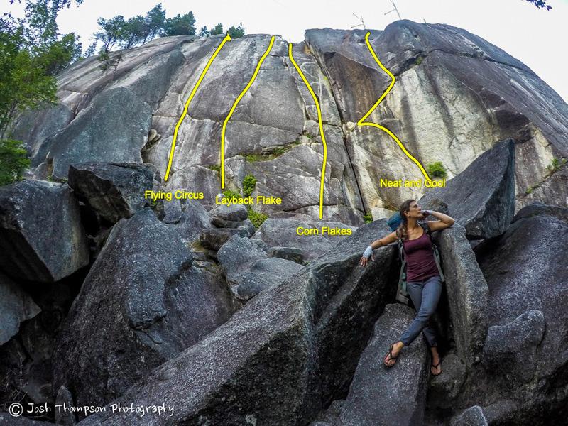 Rock Climbing Photo: Neat and Cool