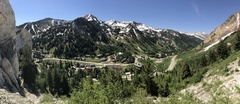 Rock Climbing Photo: Great view from Anchor 1. Snowbird included.