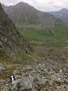 Rock Climbing Photo: Looking down towards Archangel Road from the appro...