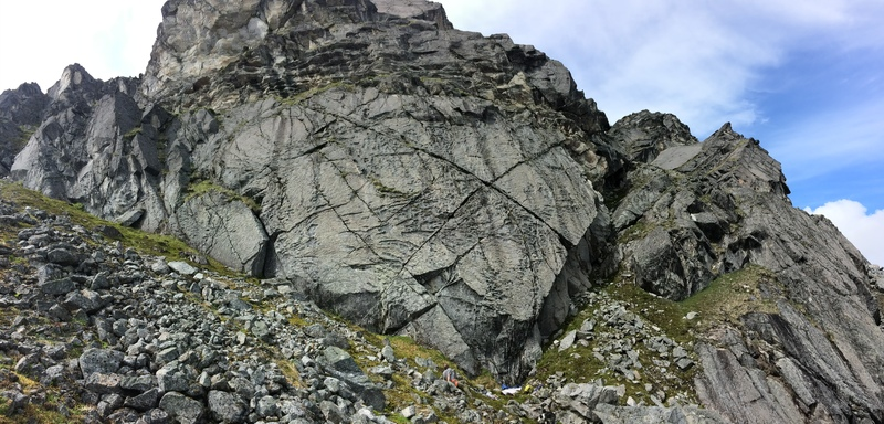 Rock Climbing Photo: YBR