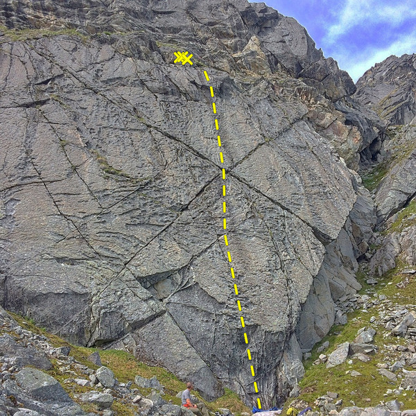Rock Climbing Photo: Yellow Brick Road