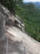 Rock Climbing Photo: Comfortable belay