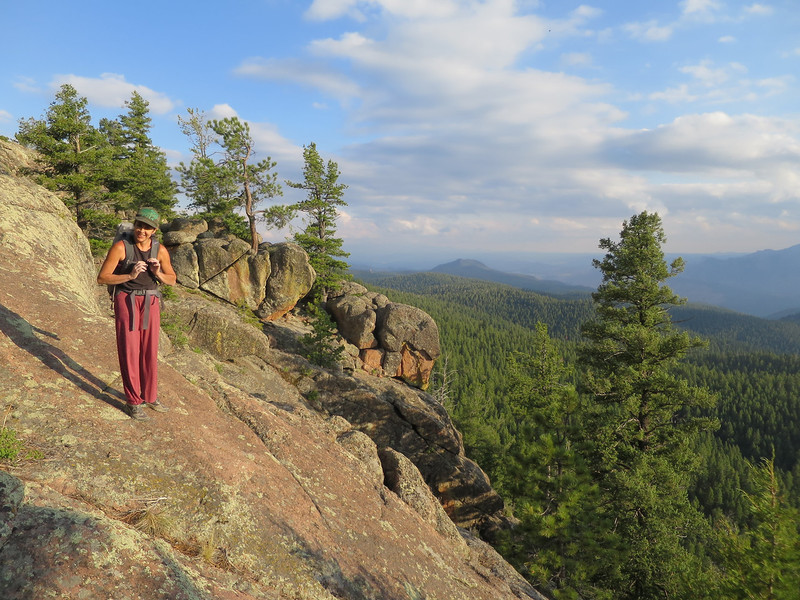 Rock Climbing Photo: Hike out....