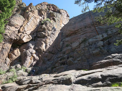 Rock Climbing Photo: Couple folks from Colorado Springs on Refiner.